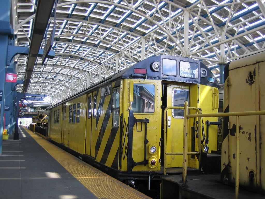 (190k, 1024x768)<br><b>Country:</b> United States<br><b>City:</b> New York<br><b>System:</b> New York City Transit<br><b>Location:</b> Coney Island/Stillwell Avenue<br><b>Route:</b> Work Service<br><b>Car:</b> R-161 Rider Car (ex-R-33)  RD407 (ex-8869)<br><b>Photo by:</b> Michael Hodurski<br><b>Date:</b> 6/10/2006<br><b>Viewed (this week/total):</b> 2 / 3056