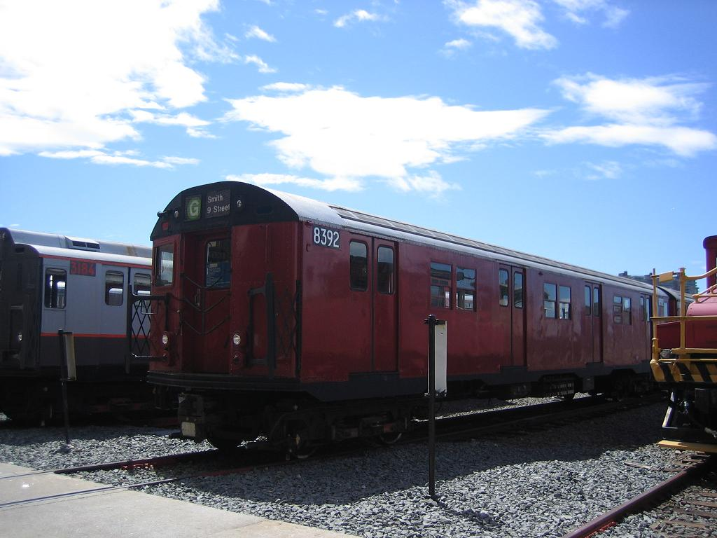 (107k, 1024x768)<br><b>Country:</b> United States<br><b>City:</b> New York<br><b>System:</b> New York City Transit<br><b>Location:</b> Coney Island Yard<br><b>Car:</b> R-30 (St. Louis, 1961) 8392 <br><b>Photo by:</b> Michael Hodurski<br><b>Date:</b> 6/10/2006<br><b>Viewed (this week/total):</b> 0 / 2907