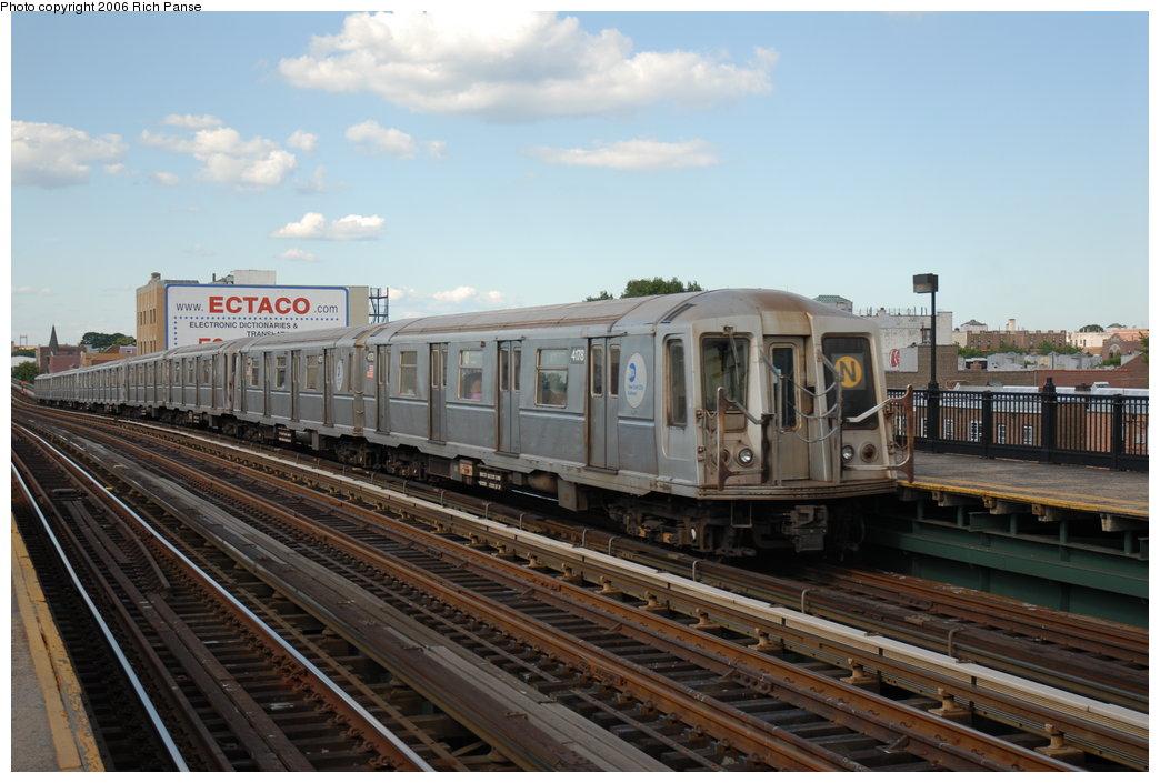 (179k, 1044x705)<br><b>Country:</b> United States<br><b>City:</b> New York<br><b>System:</b> New York City Transit<br><b>Line:</b> BMT Astoria Line<br><b>Location:</b> Broadway <br><b>Route:</b> N<br><b>Car:</b> R-40 (St. Louis, 1968)  4178 <br><b>Photo by:</b> Richard Panse<br><b>Date:</b> 6/13/2006<br><b>Viewed (this week/total):</b> 2 / 2236