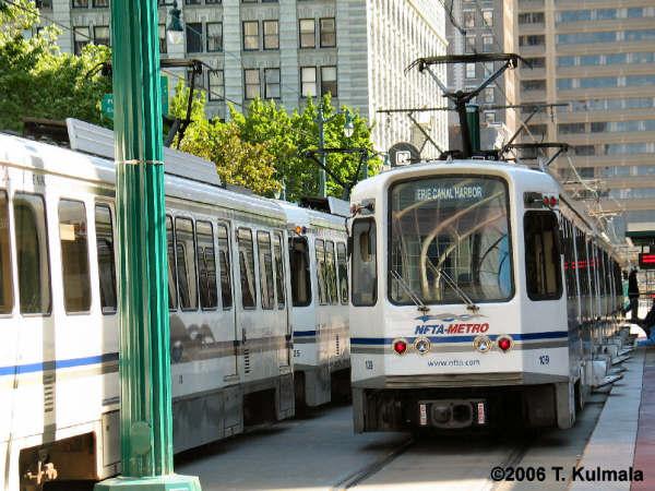 (61k, 600x450)<br><b>Country:</b> United States<br><b>City:</b> Buffalo, NY<br><b>System:</b> NFTA-Metro<br><b>Location:</b> Church <br><b>Car:</b>  109 <br><b>Photo by:</b> Tom Kulmala<br><b>Date:</b> 6/11/2006<br><b>Viewed (this week/total):</b> 5 / 4430