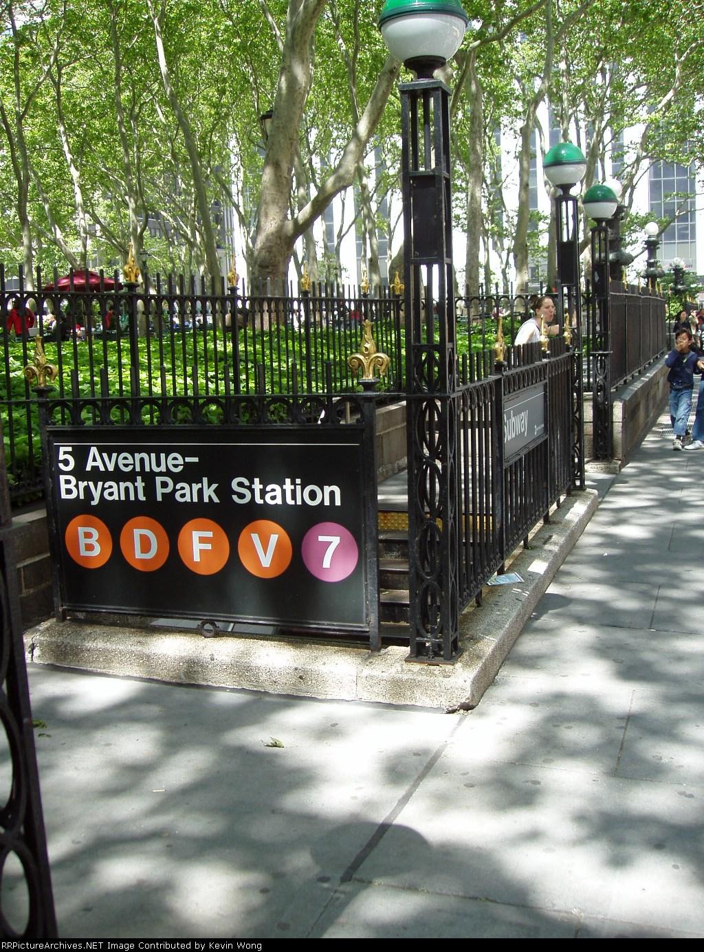 (506k, 1024x1385)<br><b>Country:</b> United States<br><b>City:</b> New York<br><b>System:</b> New York City Transit<br><b>Line:</b> IRT Flushing Line<br><b>Location:</b> 5th Avenue <br><b>Photo by:</b> Kevin Wong<br><b>Date:</b> 5/25/2006<br><b>Notes:</b> Station entrance.<br><b>Viewed (this week/total):</b> 3 / 4488