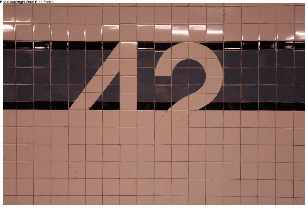 (130k, 1044x705)<br><b>Country:</b> United States<br><b>City:</b> New York<br><b>System:</b> New York City Transit<br><b>Line:</b> IND 8th Avenue Line<br><b>Location:</b> 42nd Street/Port Authority Bus Terminal <br><b>Photo by:</b> Richard Panse<br><b>Date:</b> 6/16/2006<br><b>Viewed (this week/total):</b> 1 / 1920
