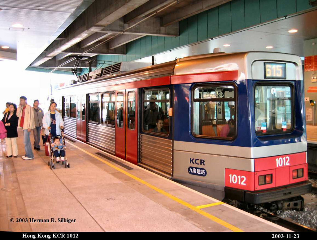 (210k, 1024x774)<br><b>Country:</b> China (Hong Kong)<br><b>City:</b> Hong Kong<br><b>System:</b> Hong Kong MTR Light Rail<br><b>Car:</b>  1012 <br><b>Photo by:</b> Herman R. Silbiger<br><b>Date:</b> 11/22/2003<br><b>Viewed (this week/total):</b> 3 / 2128
