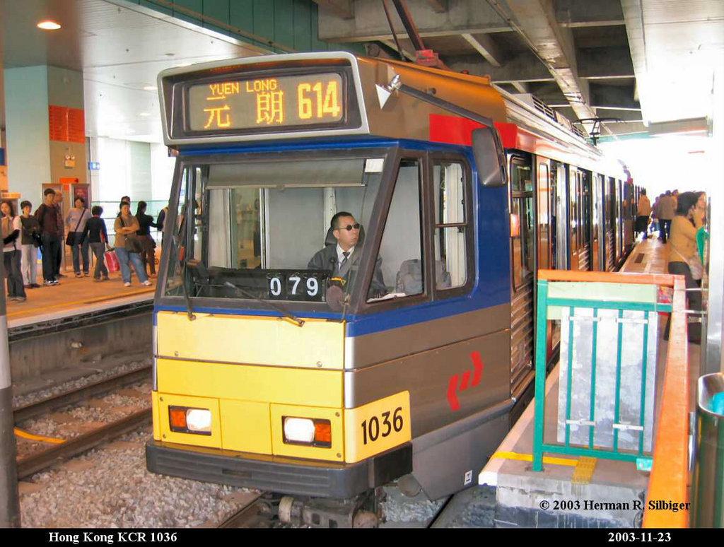 (211k, 1024x774)<br><b>Country:</b> China (Hong Kong)<br><b>City:</b> Hong Kong<br><b>System:</b> Hong Kong MTR Light Rail<br><b>Car:</b>  1036 <br><b>Photo by:</b> Herman R. Silbiger<br><b>Date:</b> 11/22/2003<br><b>Viewed (this week/total):</b> 2 / 1798