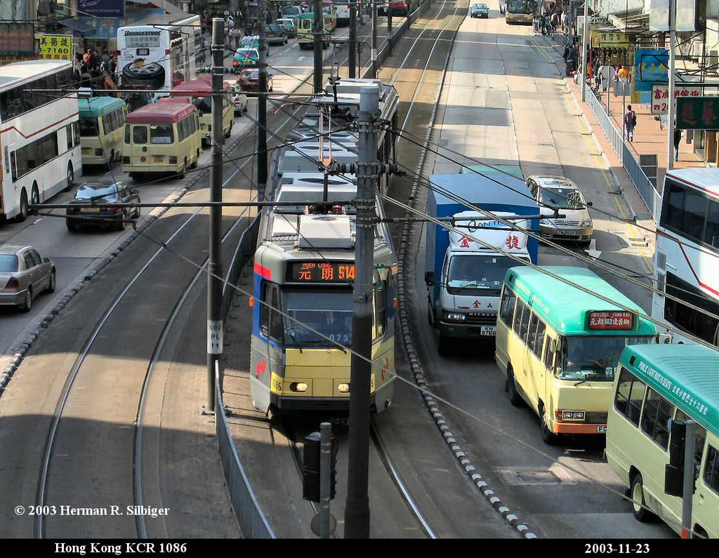 (264k, 1024x795)<br><b>Country:</b> China (Hong Kong)<br><b>City:</b> Hong Kong<br><b>System:</b> Hong Kong MTR Light Rail<br><b>Car:</b>  1086 <br><b>Photo by:</b> Herman R. Silbiger<br><b>Date:</b> 11/22/2003<br><b>Viewed (this week/total):</b> 3 / 1852