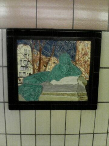 (44k, 360x480)<br><b>Country:</b> United States<br><b>City:</b> New York<br><b>System:</b> New York City Transit<br><b>Line:</b> IRT West Side Line<br><b>Location:</b> 86th Street <br><b>Photo by:</b> John Barnes<br><b>Date:</b> 7/2/2006<br><b>Artwork:</b> <i>Westside Views</i>, Nitza Tufino (1989).<br><b>Viewed (this week/total):</b> 5 / 1795