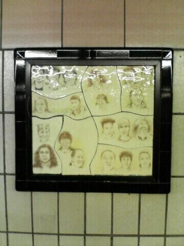(48k, 360x480)<br><b>Country:</b> United States<br><b>City:</b> New York<br><b>System:</b> New York City Transit<br><b>Line:</b> IRT West Side Line<br><b>Location:</b> 86th Street <br><b>Photo by:</b> John Barnes<br><b>Date:</b> 7/2/2006<br><b>Artwork:</b> <i>Westside Views</i>, Nitza Tufino (1989).<br><b>Viewed (this week/total):</b> 3 / 1984