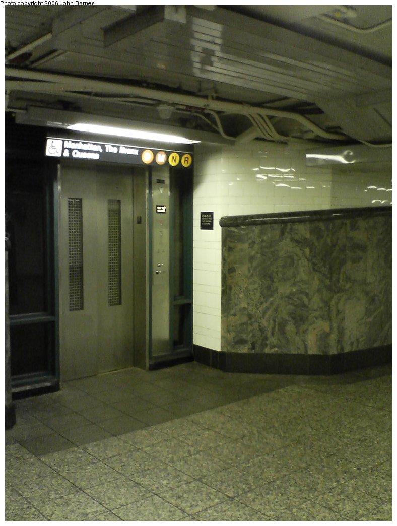 (134k, 788x1044)<br><b>Country:</b> United States<br><b>City:</b> New York<br><b>System:</b> New York City Transit<br><b>Line:</b> IRT Brooklyn Line<br><b>Location:</b> Atlantic Avenue <br><b>Photo by:</b> John Barnes<br><b>Date:</b> 7/9/2006<br><b>Artwork:</b> <i>Hook, Line, and Sinker</i>, George Trakas (2004).<br><b>Notes:</b> Hook portion.<br><b>Viewed (this week/total):</b> 0 / 3013