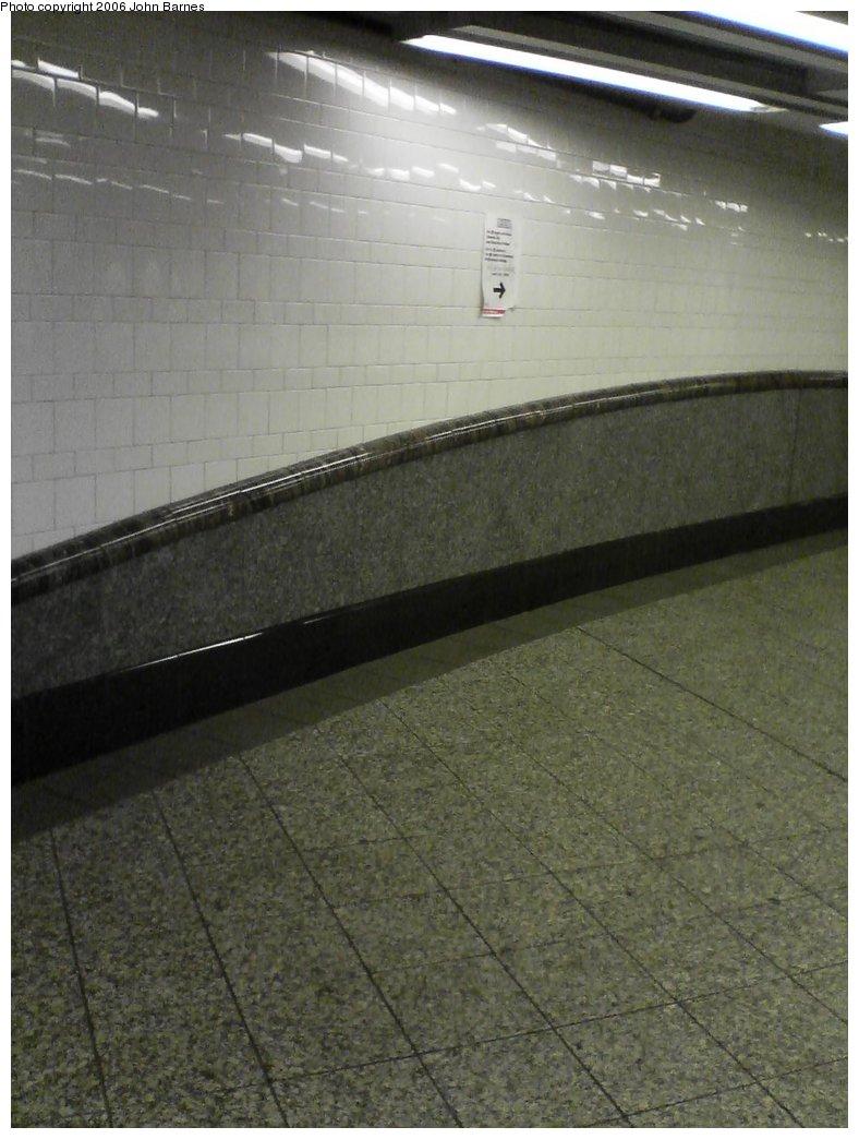(140k, 788x1044)<br><b>Country:</b> United States<br><b>City:</b> New York<br><b>System:</b> New York City Transit<br><b>Line:</b> IRT Brooklyn Line<br><b>Location:</b> Atlantic Avenue <br><b>Photo by:</b> John Barnes<br><b>Date:</b> 7/9/2006<br><b>Artwork:</b> <i>Hook, Line, and Sinker</i>, George Trakas (2004).<br><b>Notes:</b> Hook portion.<br><b>Viewed (this week/total):</b> 5 / 2437