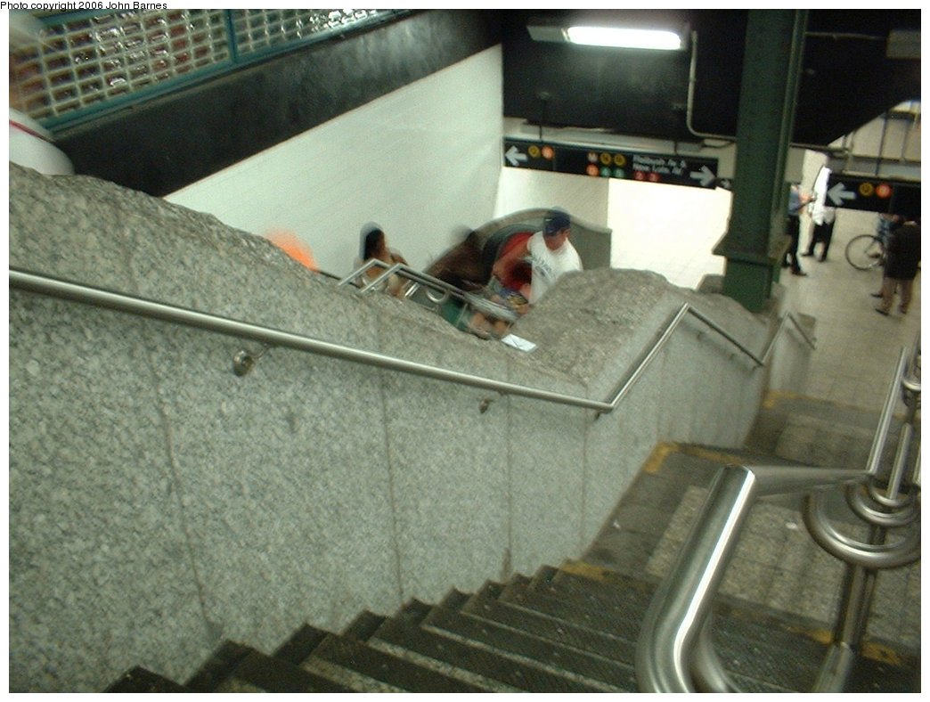 (168k, 1044x788)<br><b>Country:</b> United States<br><b>City:</b> New York<br><b>System:</b> New York City Transit<br><b>Line:</b> IRT Brooklyn Line<br><b>Location:</b> Atlantic Avenue <br><b>Photo by:</b> John Barnes<br><b>Date:</b> 7/9/2006<br><b>Artwork:</b> <i>Hook, Line, and Sinker</i>, George Trakas (2004).<br><b>Notes:</b> Sinker portion.<br><b>Viewed (this week/total):</b> 4 / 2885