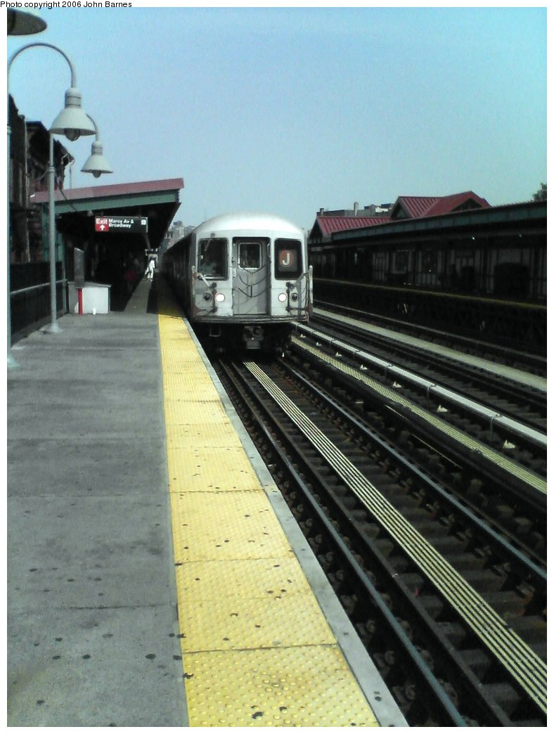 (143k, 788x1044)<br><b>Country:</b> United States<br><b>City:</b> New York<br><b>System:</b> New York City Transit<br><b>Line:</b> BMT Nassau Street/Jamaica Line<br><b>Location:</b> Marcy Avenue <br><b>Route:</b> J<br><b>Car:</b> R-42 (St. Louis, 1969-1970)  4649 <br><b>Photo by:</b> John Barnes<br><b>Date:</b> 7/10/2006<br><b>Viewed (this week/total):</b> 0 / 2093