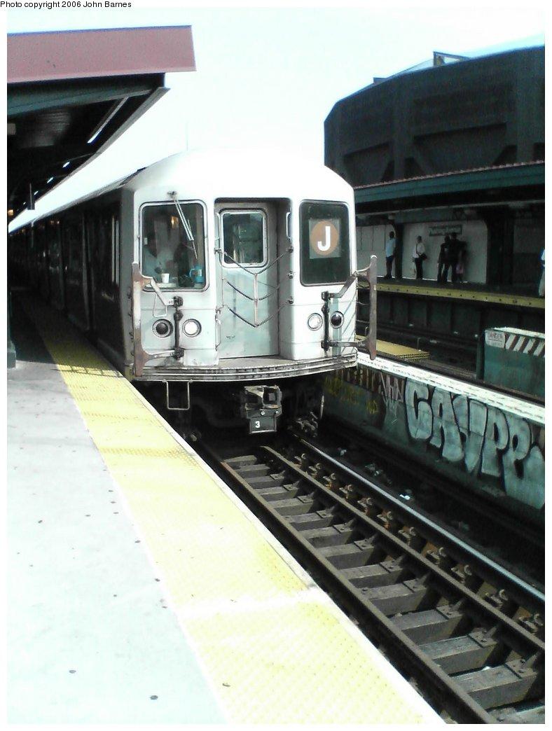 (121k, 788x1044)<br><b>Country:</b> United States<br><b>City:</b> New York<br><b>System:</b> New York City Transit<br><b>Line:</b> BMT Nassau Street/Jamaica Line<br><b>Location:</b> Flushing Avenue <br><b>Route:</b> J<br><b>Car:</b> R-42 (St. Louis, 1969-1970)  4741 <br><b>Photo by:</b> John Barnes<br><b>Date:</b> 7/10/2006<br><b>Viewed (this week/total):</b> 2 / 2215