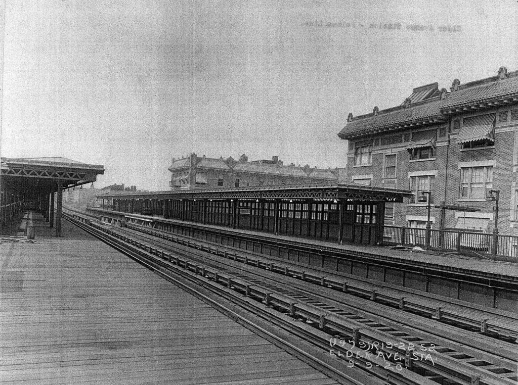 (290k, 1024x762)<br><b>Country:</b> United States<br><b>City:</b> New York<br><b>System:</b> New York City Transit<br><b>Line:</b> IRT Pelham Line<br><b>Location:</b> Elder Avenue <br><b>Collection of:</b> Al Westerfield<br><b>Date:</b> 9/9/1920<br><b>Viewed (this week/total):</b> 1 / 2195