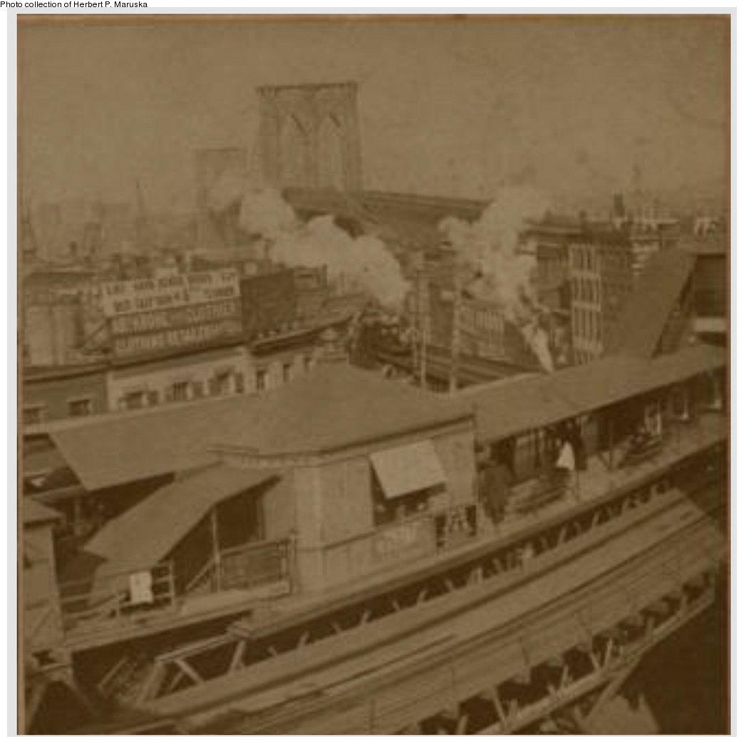(104k, 1044x1044)<br><b>Country:</b> United States<br><b>City:</b> New York<br><b>System:</b> New York City Transit<br><b>Line:</b> BMT Fulton<br><b>Location:</b> Sands Street <br><b>Collection of:</b> Herbert P. Maruska<br><b>Viewed (this week/total):</b> 0 / 2287