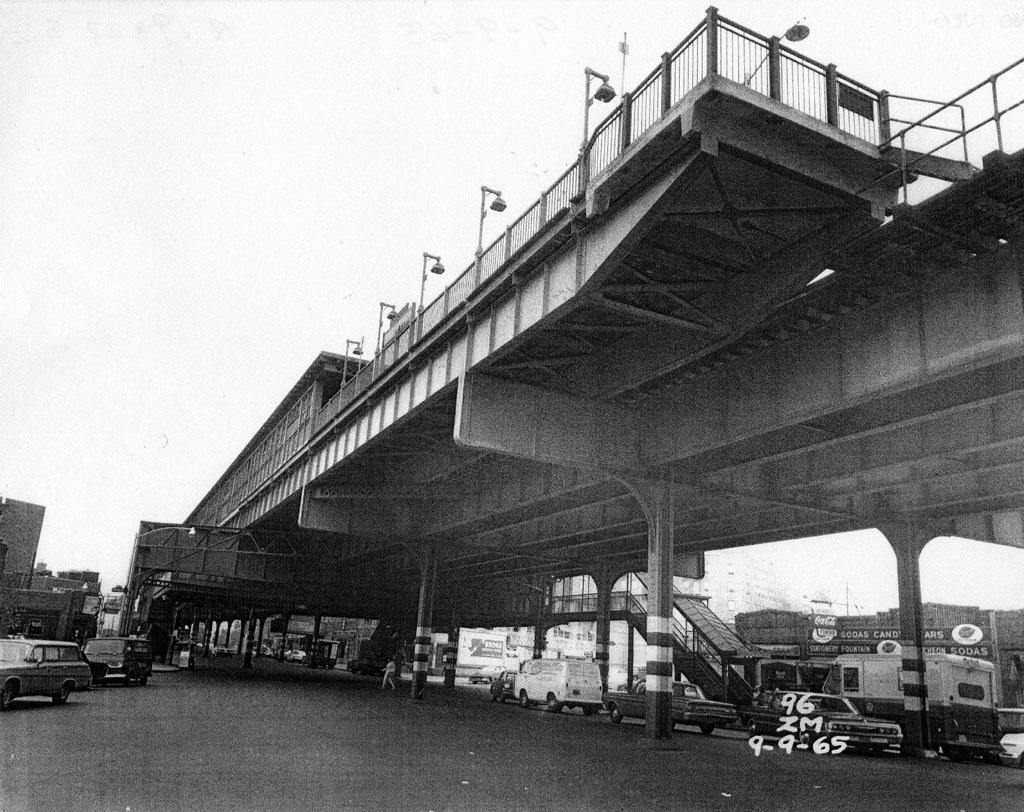 (216k, 1024x812)<br><b>Country:</b> United States<br><b>City:</b> New York<br><b>System:</b> New York City Transit<br><b>Line:</b> IRT Pelham Line<br><b>Location:</b> Buhre Avenue <br><b>Collection of:</b> Al Westerfield<br><b>Date:</b> 9/9/1965<br><b>Viewed (this week/total):</b> 0 / 2376
