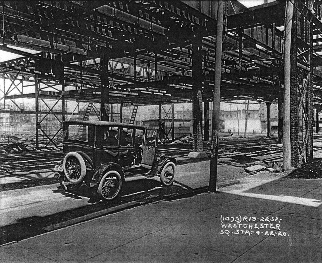 (312k, 1024x838)<br><b>Country:</b> United States<br><b>City:</b> New York<br><b>System:</b> New York City Transit<br><b>Line:</b> IRT Pelham Line<br><b>Location:</b> Westchester Square <br><b>Collection of:</b> Al Westerfield<br><b>Date:</b> 9/22/1920<br><b>Viewed (this week/total):</b> 0 / 3249