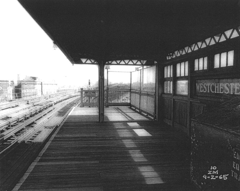 (152k, 1024x812)<br><b>Country:</b> United States<br><b>City:</b> New York<br><b>System:</b> New York City Transit<br><b>Line:</b> IRT Pelham Line<br><b>Location:</b> Westchester Square <br><b>Collection of:</b> Al Westerfield<br><b>Date:</b> 9/2/1965<br><b>Viewed (this week/total):</b> 0 / 1698