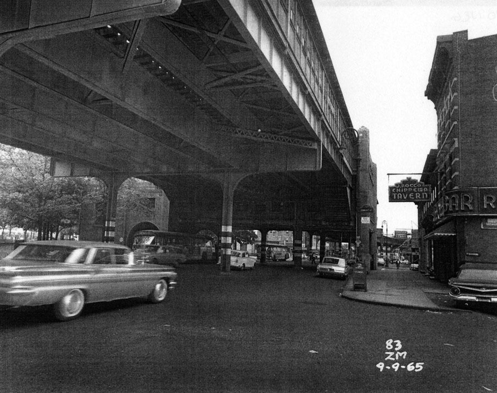 (201k, 1024x809)<br><b>Country:</b> United States<br><b>City:</b> New York<br><b>System:</b> New York City Transit<br><b>Line:</b> IRT Pelham Line<br><b>Location:</b> Westchester Square <br><b>Collection of:</b> Al Westerfield<br><b>Date:</b> 9/9/1965<br><b>Viewed (this week/total):</b> 0 / 2220