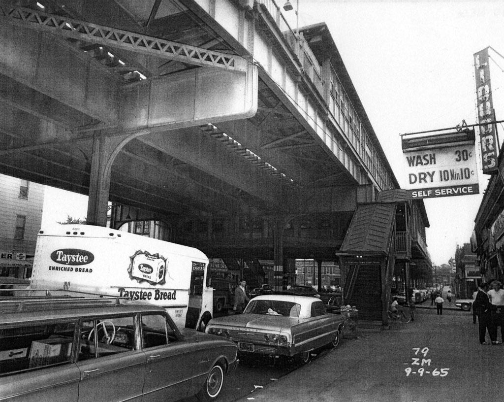 (216k, 1024x816)<br><b>Country:</b> United States<br><b>City:</b> New York<br><b>System:</b> New York City Transit<br><b>Line:</b> IRT Pelham Line<br><b>Location:</b> Zerega Avenue <br><b>Collection of:</b> Al Westerfield<br><b>Date:</b> 9/9/1965<br><b>Viewed (this week/total):</b> 0 / 2208