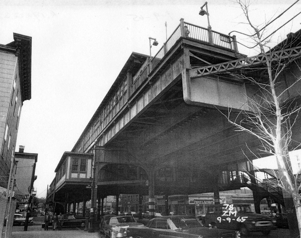 (206k, 1024x810)<br><b>Country:</b> United States<br><b>City:</b> New York<br><b>System:</b> New York City Transit<br><b>Line:</b> IRT Pelham Line<br><b>Location:</b> Zerega Avenue <br><b>Collection of:</b> Al Westerfield<br><b>Date:</b> 9/9/1965<br><b>Viewed (this week/total):</b> 1 / 1879