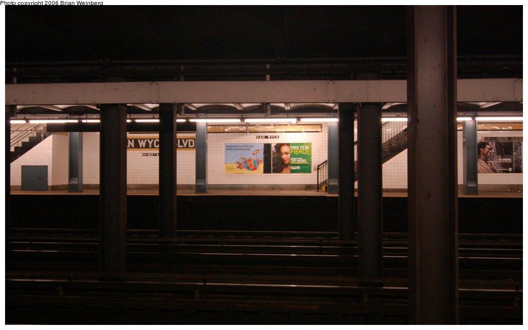 (151k, 1044x653)<br><b>Country:</b> United States<br><b>City:</b> New York<br><b>System:</b> New York City Transit<br><b>Line:</b> IND Queens Boulevard Line<br><b>Location:</b> Briarwood/Van Wyck Boulevard <br><b>Photo by:</b> Brian Weinberg<br><b>Date:</b> 7/16/2006<br><b>Viewed (this week/total):</b> 0 / 2891