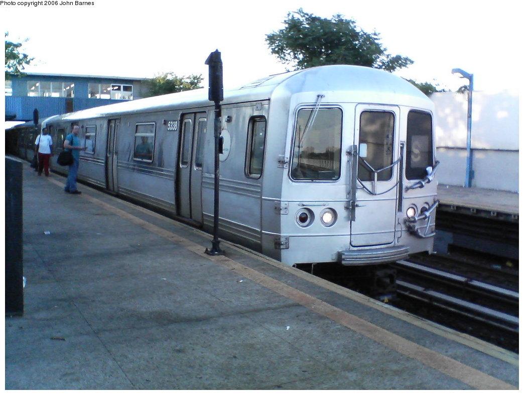 (153k, 1044x788)<br><b>Country:</b> United States<br><b>City:</b> New York<br><b>System:</b> New York City Transit<br><b>Line:</b> IND Rockaway<br><b>Location:</b> Broad Channel <br><b>Route:</b> S<br><b>Car:</b> R-44 (St. Louis, 1971-73) 5338 <br><b>Photo by:</b> John Barnes<br><b>Date:</b> 7/16/2006<br><b>Viewed (this week/total):</b> 0 / 2339