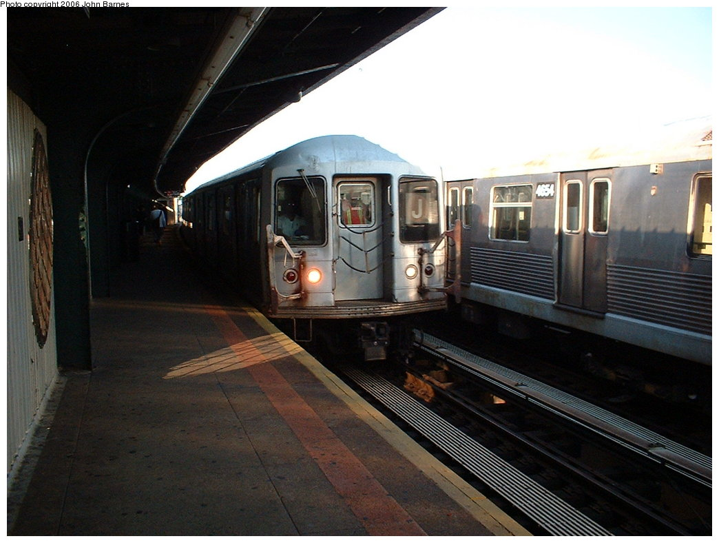 (164k, 1044x788)<br><b>Country:</b> United States<br><b>City:</b> New York<br><b>System:</b> New York City Transit<br><b>Line:</b> BMT Nassau Street/Jamaica Line<br><b>Location:</b> 111th Street <br><b>Route:</b> J<br><b>Car:</b> R-42 (St. Louis, 1969-1970)   <br><b>Photo by:</b> John Barnes<br><b>Date:</b> 7/16/2006<br><b>Viewed (this week/total):</b> 1 / 2695