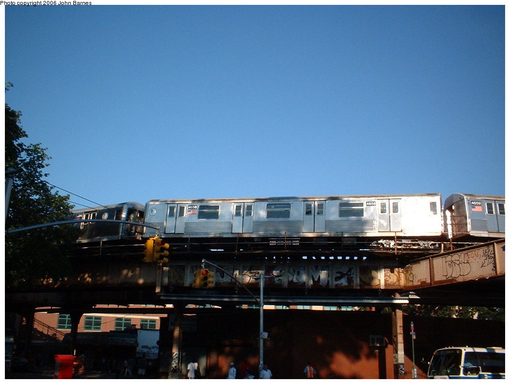 (156k, 1044x788)<br><b>Country:</b> United States<br><b>City:</b> New York<br><b>System:</b> New York City Transit<br><b>Line:</b> BMT Nassau Street/Jamaica Line<br><b>Location:</b> Cypress Hills <br><b>Route:</b> J<br><b>Car:</b> R-42 (St. Louis, 1969-1970)  4658 <br><b>Photo by:</b> John Barnes<br><b>Date:</b> 7/16/2006<br><b>Viewed (this week/total):</b> 2 / 4101