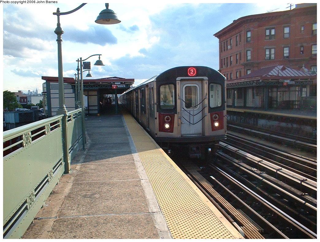 (225k, 1044x788)<br><b>Country:</b> United States<br><b>City:</b> New York<br><b>System:</b> New York City Transit<br><b>Line:</b> IRT White Plains Road Line<br><b>Location:</b> Simpson Street <br><b>Route:</b> 2<br><b>Car:</b> R-142 (Primary Order, Bombardier, 1999-2002)  6581 <br><b>Photo by:</b> John Barnes<br><b>Date:</b> 7/23/2006<br><b>Viewed (this week/total):</b> 2 / 2844