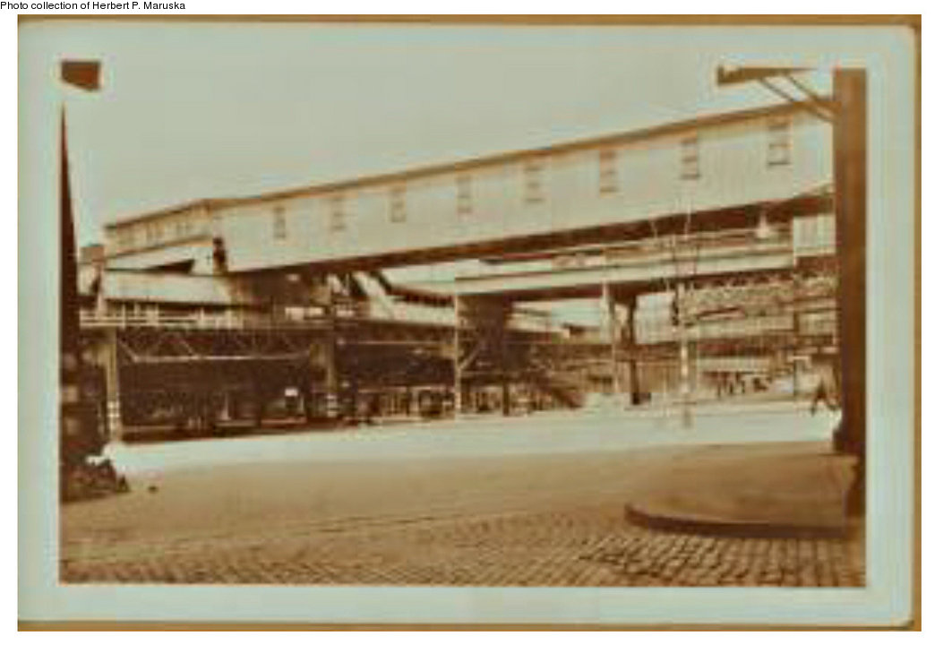 (119k, 1044x720)<br><b>Country:</b> United States<br><b>City:</b> New York<br><b>System:</b> New York City Transit<br><b>Line:</b> BMT Fulton<br><b>Location:</b> Sands Street <br><b>Collection of:</b> Herbert P. Maruska<br><b>Date:</b> 1937<br><b>Viewed (this week/total):</b> 0 / 1745