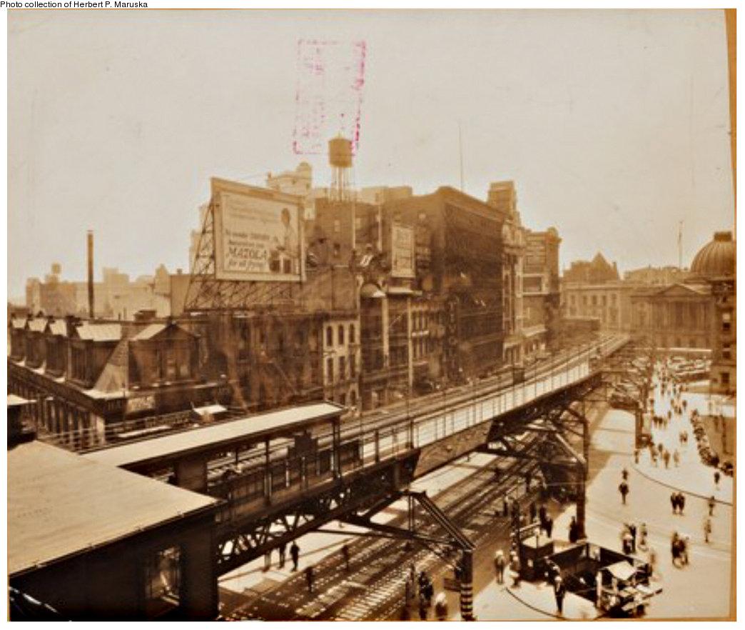 (180k, 1044x882)<br><b>Country:</b> United States<br><b>City:</b> New York<br><b>System:</b> New York City Transit<br><b>Line:</b> BMT Fulton<br><b>Location:</b> Court St./Myrtle Ave <br><b>Collection of:</b> Herbert P. Maruska<br><b>Viewed (this week/total):</b> 0 / 2076