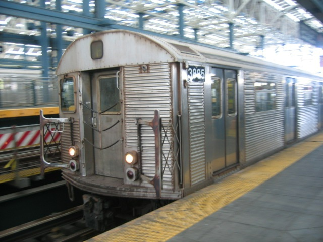 (133k, 640x480)<br><b>Country:</b> United States<br><b>City:</b> New York<br><b>System:</b> New York City Transit<br><b>Location:</b> Coney Island/Stillwell Avenue<br><b>Route:</b> F<br><b>Car:</b> R-32 (Budd, 1964)  3885 <br><b>Photo by:</b> Charles Ali<br><b>Date:</b> 7/22/2006<br><b>Viewed (this week/total):</b> 0 / 2100