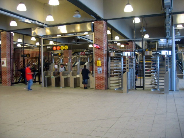 (128k, 640x480)<br><b>Country:</b> United States<br><b>City:</b> New York<br><b>System:</b> New York City Transit<br><b>Location:</b> Coney Island/Stillwell Avenue<br><b>Photo by:</b> Charles Ali<br><b>Date:</b> 7/22/2006<br><b>Notes:</b> Stillwell Avenue fare control area.<br><b>Viewed (this week/total):</b> 0 / 1887