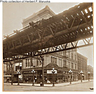 (80k, 396x389)<br><b>Country:</b> United States<br><b>City:</b> New York<br><b>System:</b> New York City Transit<br><b>Line:</b> BMT Fulton<br><b>Location:</b> Flatbush Avenue <br><b>Collection of:</b> Herbert P. Maruska<br><b>Date:</b> 1906<br><b>Notes:</b> Flatbush Ave. station at Hanover Pl.<br><b>Viewed (this week/total):</b> 0 / 1430