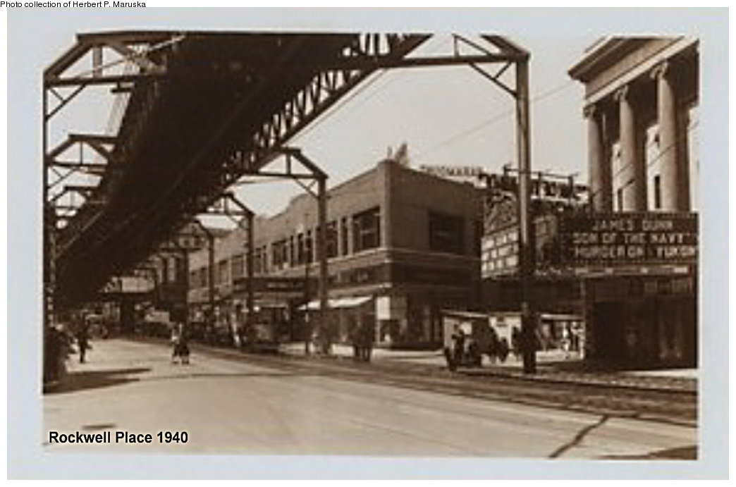 (127k, 1044x691)<br><b>Country:</b> United States<br><b>City:</b> New York<br><b>System:</b> New York City Transit<br><b>Line:</b> BMT Fulton<br><b>Location:</b> Flatbush Avenue <br><b>Collection of:</b> Herbert P. Maruska<br><b>Date:</b> 1940<br><b>Notes:</b> Flatbush Ave. station view at Rockwell Pl.<br><b>Viewed (this week/total):</b> 1 / 3291