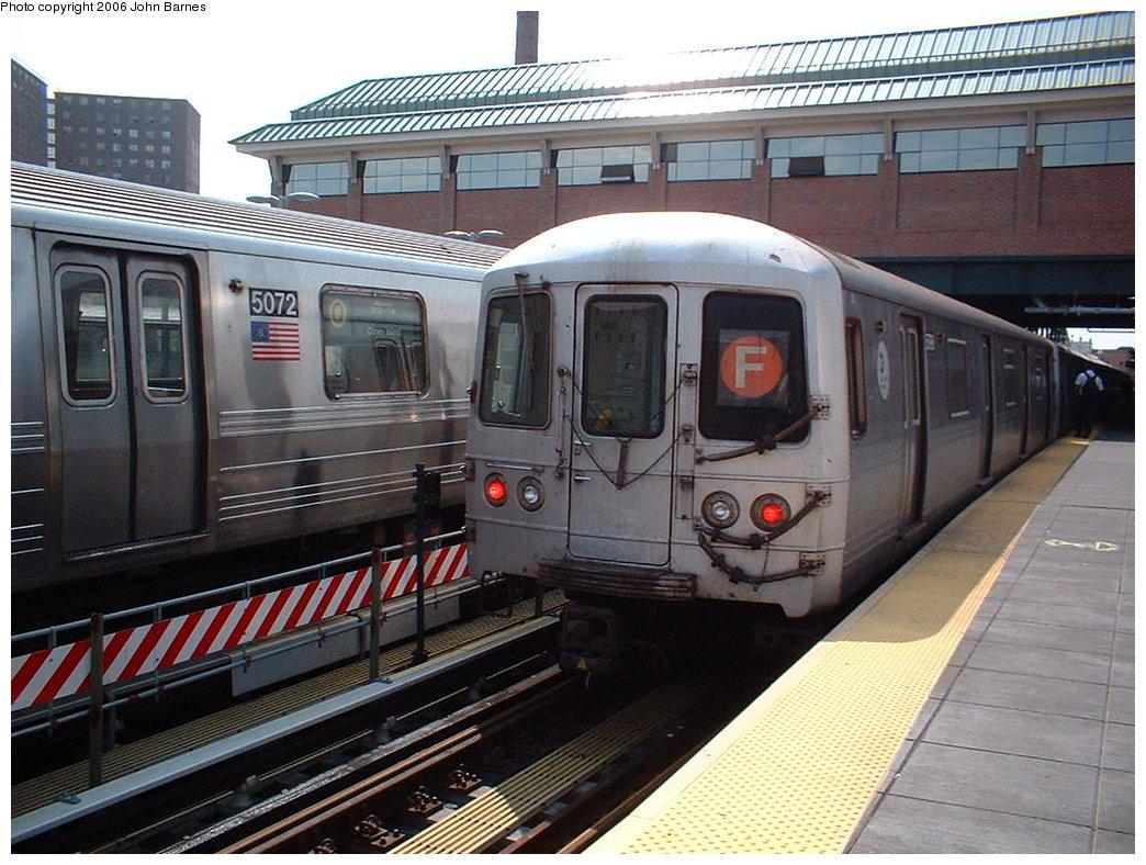 (207k, 1044x788)<br><b>Country:</b> United States<br><b>City:</b> New York<br><b>System:</b> New York City Transit<br><b>Location:</b> Coney Island/Stillwell Avenue<br><b>Route:</b> F<br><b>Car:</b> R-46 (Pullman-Standard, 1974-75) 5942 <br><b>Photo by:</b> John Barnes<br><b>Date:</b> 8/20/2006<br><b>Viewed (this week/total):</b> 1 / 2791