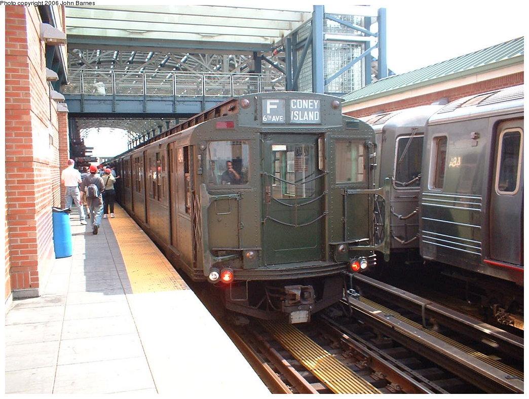 (211k, 1044x788)<br><b>Country:</b> United States<br><b>City:</b> New York<br><b>System:</b> New York City Transit<br><b>Location:</b> Coney Island/Stillwell Avenue<br><b>Route:</b> Fan Trip<br><b>Car:</b> R-4 (American Car & Foundry, 1932-1933) 484 <br><b>Photo by:</b> John Barnes<br><b>Date:</b> 8/20/2006<br><b>Viewed (this week/total):</b> 1 / 2261
