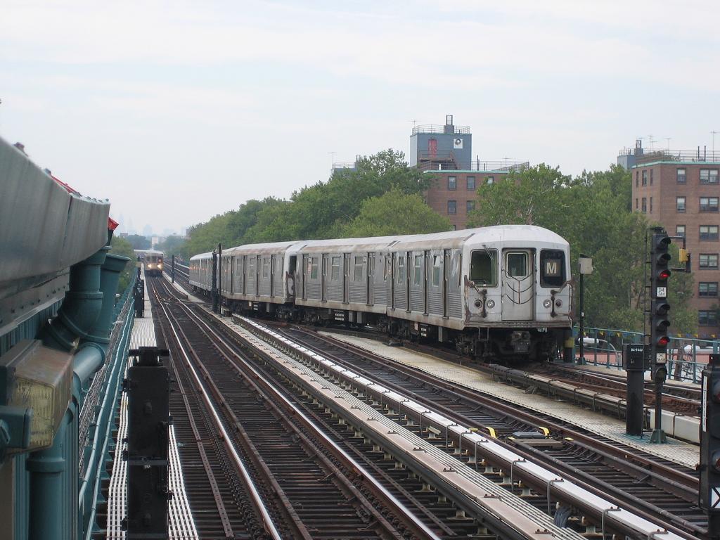 (131k, 1024x768)<br><b>Country:</b> United States<br><b>City:</b> New York<br><b>System:</b> New York City Transit<br><b>Line:</b> BMT West End Line<br><b>Location:</b> Bay 50th Street <br><b>Route:</b> M<br><b>Car:</b> R-42 (St. Louis, 1969-1970)  4745 <br><b>Photo by:</b> Michael Hodurski<br><b>Date:</b> 8/15/2006<br><b>Viewed (this week/total):</b> 0 / 2569