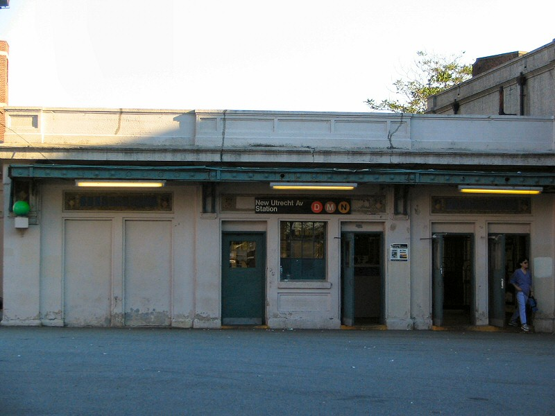 (111k, 800x600)<br><b>Country:</b> United States<br><b>City:</b> New York<br><b>System:</b> New York City Transit<br><b>Line:</b> BMT Sea Beach Line<br><b>Location:</b> New Utrecht Avenue <br><b>Photo by:</b> Dante D. Angerville<br><b>Date:</b> 9/9/2005<br><b>Notes:</b> Station headhouse<br><b>Viewed (this week/total):</b> 1 / 2502