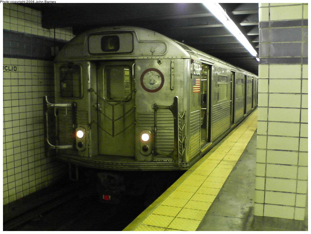 (151k, 1044x788)<br><b>Country:</b> United States<br><b>City:</b> New York<br><b>System:</b> New York City Transit<br><b>Line:</b> IND Fulton Street Line<br><b>Location:</b> Euclid Avenue <br><b>Route:</b> C<br><b>Car:</b> R-38 (St. Louis, 1966-1967)  3960 <br><b>Photo by:</b> John Barnes<br><b>Date:</b> 8/26/2006<br><b>Viewed (this week/total):</b> 2 / 3530