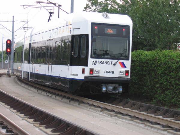 (40k, 600x450)<br><b>Country:</b> United States<br><b>City:</b> Jersey City, NJ<br><b>System:</b> Hudson Bergen Light Rail<br><b>Location:</b> Liberty State Park <br><b>Car:</b> NJT-HBLR LRV (Kinki-Sharyo, 1998-99)  2044 <br><b>Photo by:</b> Professor J<br><b>Date:</b> 8/26/2006<br><b>Viewed (this week/total):</b> 1 / 1514