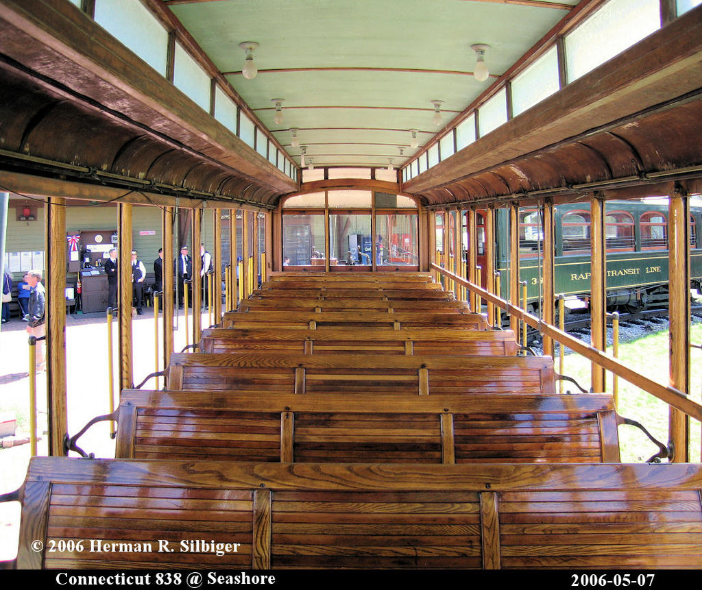 (309k, 1024x861)<br><b>Country:</b> United States<br><b>City:</b> Kennebunk, ME<br><b>System:</b> Seashore Trolley Museum <br><b>Car:</b> Connecticut Company 838 <br><b>Photo by:</b> Herman R. Silbiger<br><b>Date:</b> 5/7/2006<br><b>Viewed (this week/total):</b> 0 / 984