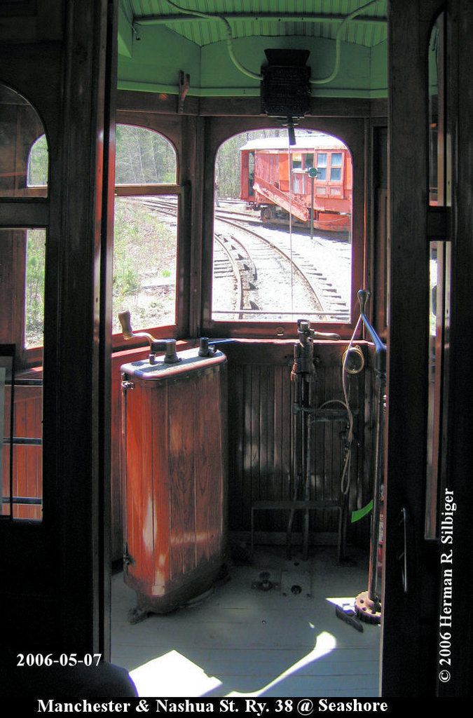 (181k, 675x1024)<br><b>Country:</b> United States<br><b>City:</b> Kennebunk, ME<br><b>System:</b> Seashore Trolley Museum <br><b>Car:</b> Manchester & Nashua 38 <br><b>Photo by:</b> Herman R. Silbiger<br><b>Date:</b> 5/7/2006<br><b>Viewed (this week/total):</b> 0 / 961