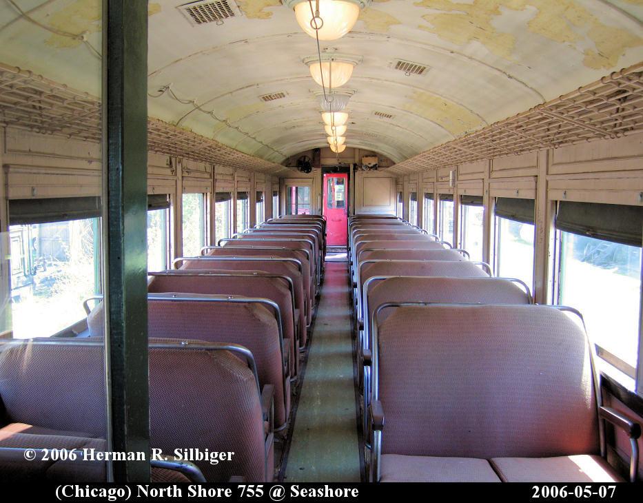 (169k, 933x730)<br><b>Country:</b> United States<br><b>City:</b> Kennebunk, ME<br><b>System:</b> Seashore Trolley Museum <br><b>Car:</b> Chicago North Shore 720 <br><b>Photo by:</b> Herman R. Silbiger<br><b>Date:</b> 5/7/2006<br><b>Viewed (this week/total):</b> 0 / 1167