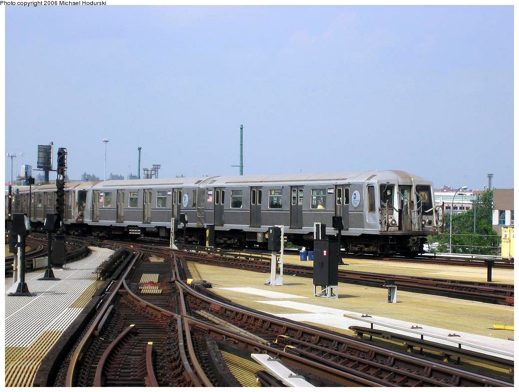 (218k, 1044x788)<br><b>Country:</b> United States<br><b>City:</b> New York<br><b>System:</b> New York City Transit<br><b>Location:</b> Coney Island/Stillwell Avenue<br><b>Route:</b> N<br><b>Car:</b> R-40 (St. Louis, 1968)  4448 <br><b>Photo by:</b> Michael Hodurski<br><b>Date:</b> 8/20/2006<br><b>Viewed (this week/total):</b> 0 / 3037