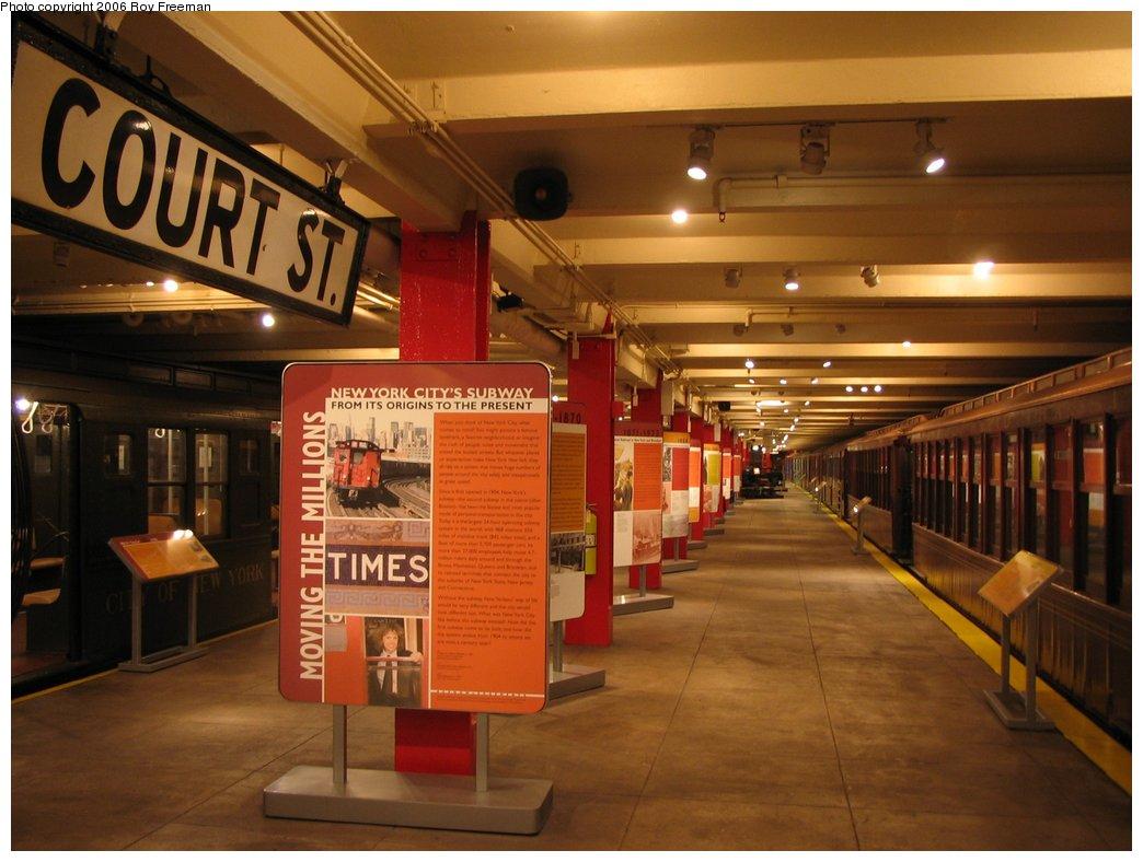 (141k, 1044x788)<br><b>Country:</b> United States<br><b>City:</b> New York<br><b>System:</b> New York City Transit<br><b>Location:</b> New York Transit Museum<br><b>Photo by:</b> Roy Freeman<br><b>Date:</b> 9/9/2006<br><b>Notes:</b> Platform level at NY Transit Museum.<br><b>Viewed (this week/total):</b> 0 / 4558