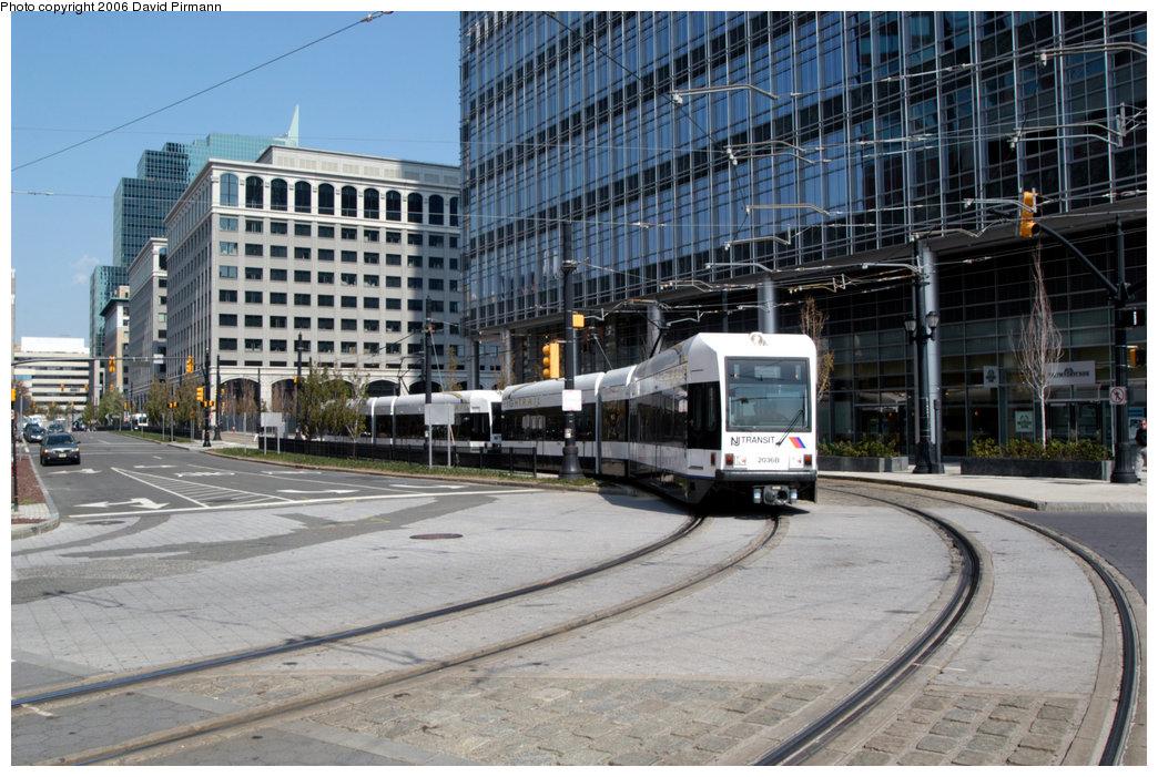 (254k, 1044x701)<br><b>Country:</b> United States<br><b>City:</b> Jersey City, NJ<br><b>System:</b> Hudson Bergen Light Rail<br><b>Location:</b> Essex Street <br><b>Car:</b> NJT-HBLR LRV (Kinki-Sharyo, 1998-99)  2036 <br><b>Photo by:</b> David Pirmann<br><b>Date:</b> 9/28/2006<br><b>Viewed (this week/total):</b> 0 / 1701