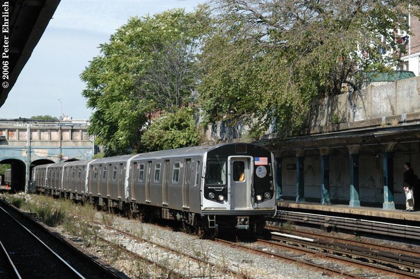 (304k, 864x574)<br><b>Country:</b> United States<br><b>City:</b> New York<br><b>System:</b> New York City Transit<br><b>Line:</b> BMT Sea Beach Line<br><b>Location:</b> 18th Avenue <br><b>Route:</b> Testing.<br><b>Car:</b> R-160A-2 (Alstom, 2005-2008, 5 car sets)  8653 <br><b>Photo by:</b> Peter Ehrlich<br><b>Date:</b> 9/30/2006<br><b>Viewed (this week/total):</b> 0 / 2060
