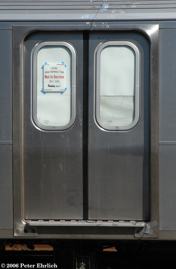 (138k, 567x864)<br><b>Country:</b> United States<br><b>City:</b> New York<br><b>System:</b> New York City Transit<br><b>Route:</b> Testing.<br><b>Car:</b> R-160A-2 (Alstom, 2005-2008, 5 car sets)  8657 <br><b>Photo by:</b> Peter Ehrlich<br><b>Date:</b> 9/30/2006<br><b>Viewed (this week/total):</b> 0 / 4106