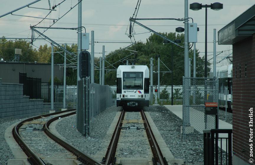(214k, 864x559)<br><b>Country:</b> United States<br><b>City:</b> North Bergen, NJ<br><b>System:</b> Hudson Bergen Light Rail<br><b>Location:</b> Tonnelle Avenue <br><b>Car:</b> NJT-HBLR LRV (Kinki-Sharyo, 1998-99)  2050 <br><b>Photo by:</b> Peter Ehrlich<br><b>Date:</b> 9/28/2006<br><b>Viewed (this week/total):</b> 0 / 1999
